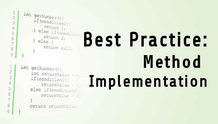 Method Implementation